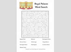 Kings and Queens Word Search