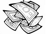 Money Coloring Wecoloringpage sketch template