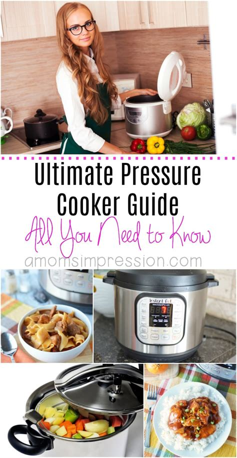 pressure cooker guide know types different cookers need