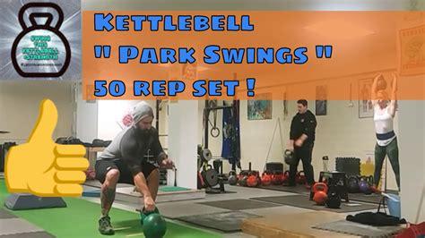 kettlebell reps swings