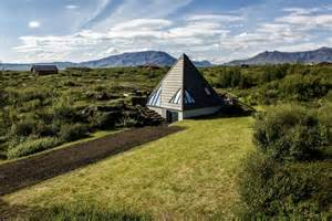 outdoor kitchen floor plans small pyramid cottage in iceland is sustainable and charming