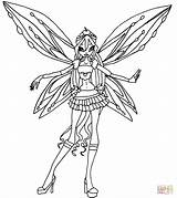 Winx Coloring Bloom Ausmalbilder Zoomix Flora Colorare Musa Zum Stella Disegni Dibujos Supercoloring Colorear Disney Wings Printable Malvorlagen Ausdrucken Layla sketch template
