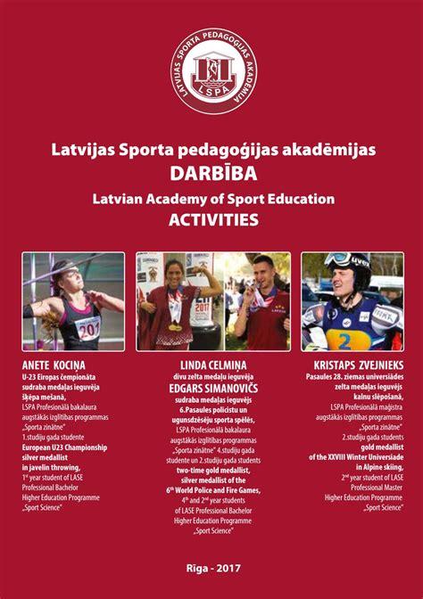 LSPA darbība 2017 - LASE activities 2017 by Jānis Nicmanis ...