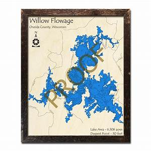 How To Read Nautical Charts Willow Flowage Wi Wood Map 3d Nautical Wood Charts