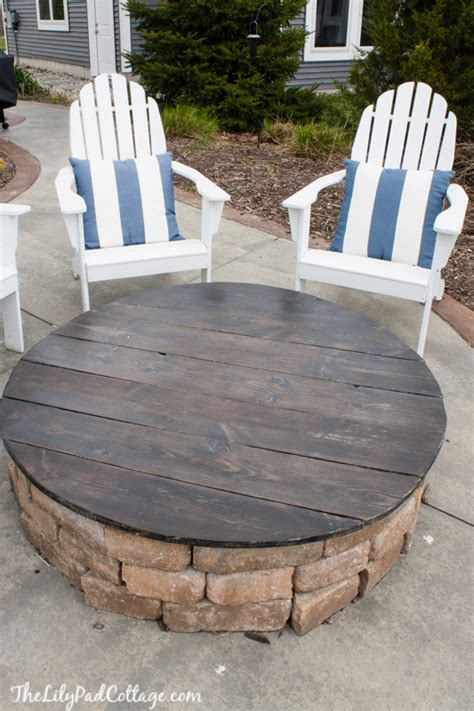 build your own fire pit table the do 39 s and don 39 ts of a fire pit table top the lilypad