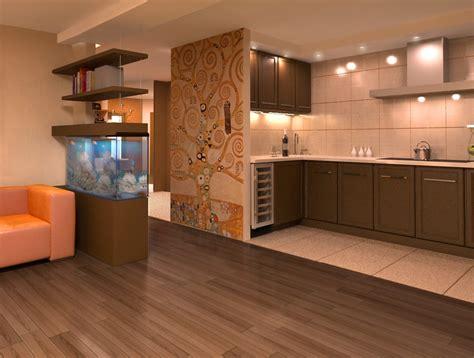 living room kitchen design дизайн интерьера гостиной кухни в современном и 7141