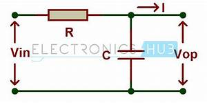 First Order And Second Order Passive Low Pass Filter Circuits