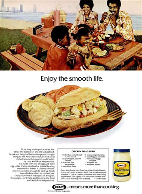 kraft food adverts  retro musings