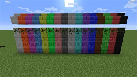 colored blocks galactic colored blocks cosmetic minecraft mods curse