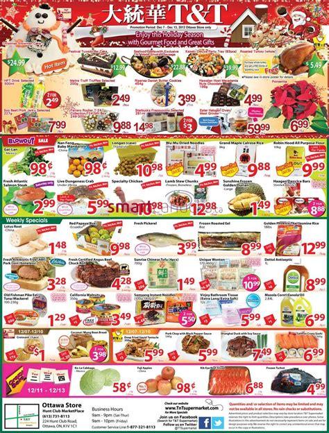 T&T Supermarket(Ottawa) flyer Dec 7 to 13