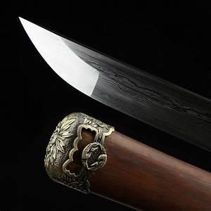 Tachi Sword, Real Handmade Full Tang Japanese Katana ...