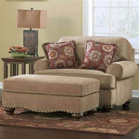 Living Room Chair With Ottoman Modern House Ottoman For