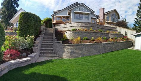 Uniblock Wall by Retaining Walls Js Landscape Construction