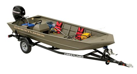 Crestliner Jon Boats Reviews by Crestliner Introduces Retriever Jon Utility Boats Boats