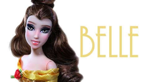 Belle Doll Repaint [ Beauty And The Beast ] Youtube