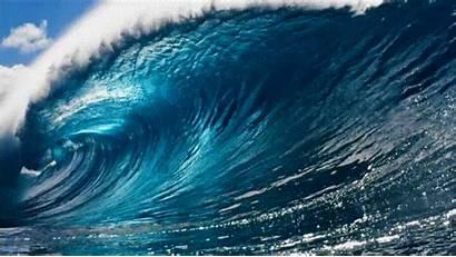 Wave Water Gifs Waves Animated Ocean Huge