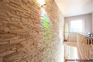 Wand Mit Steinoptik : steinwand mediterraner hausbau ~ Markanthonyermac.com Haus und Dekorationen