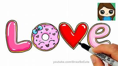 Draw Bubble Letters Donut Cookies Drawings Easy