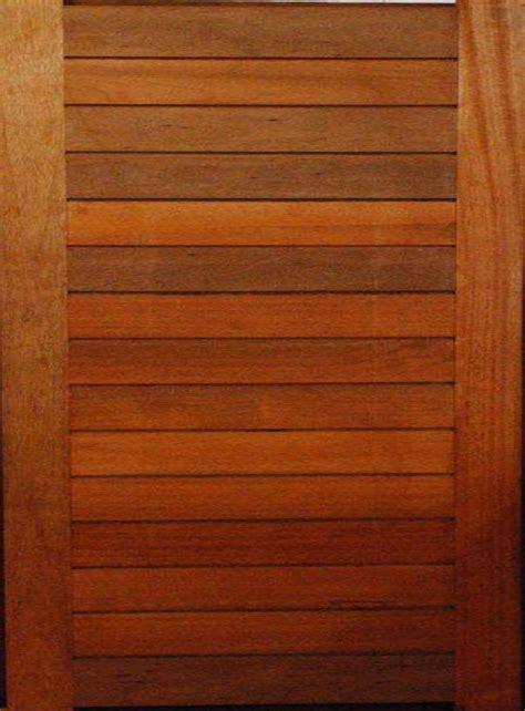 Horizontal Slatted Pivot Door 1500 X 2032   Entrance Doors