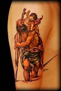 Saint Christopher ! by LITOS: TattooNOW