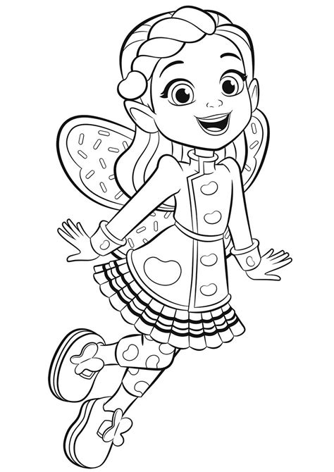 Butterbean Kids printable coloring pages Coloring