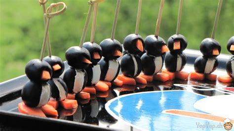 livre de cuisine facile pour tous les jours recette des pingouins amuse bouche yopyop ch la cuisine amusante