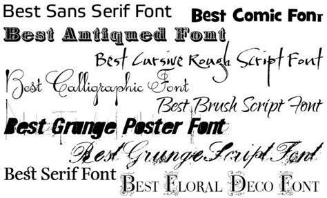 which fonts and sizes work best to enhance your website