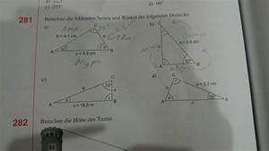 Fehlende Größen Im Dreieck Berechnen : dreieck dreieck fehlende seiten und winkel berechnen mathelounge ~ Themetempest.com Abrechnung