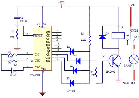 Switches Low Power Timer Switch Circuit Electrical