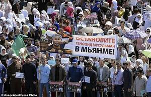 Tens of thousands in Russia's Chechnya rally for Rohingya ...
