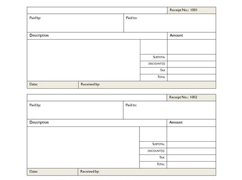 receipt template category page 1 efoza