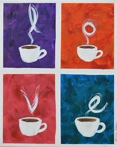 25 best ideas about kitchen canvas art on pinterest 3 With what kind of paint to use on kitchen cabinets for coffee cup metal wall art
