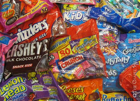 Operation Gratitude Halloween Candy by Candy For A Cause Chapel Hill Recorder