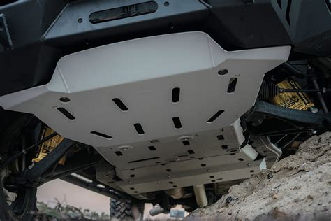 chevy colorado zrz overland skid plates cbi offroad fab