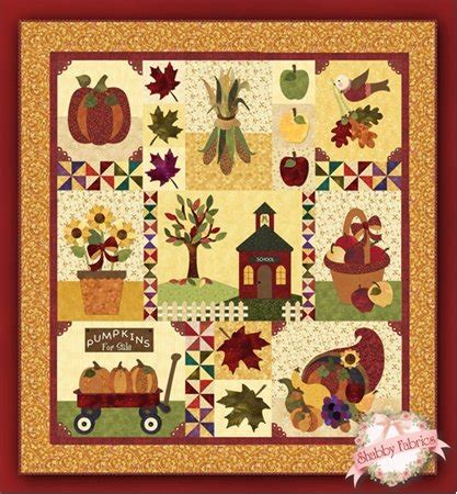 shabby fabrics blessings of autumn blessings of autumn pattern set by shabby fabrics