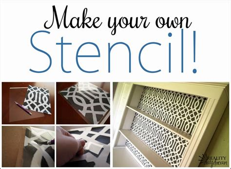 Learn How To Make A Stencil From Scratch! {reality Daydream}
