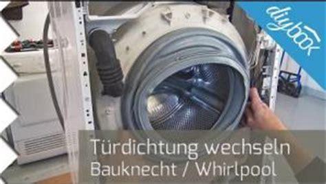aeg waschmaschine laeuft aus tuerdichtung wechseln video