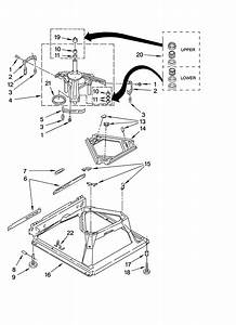Machine Base Parts Diagram  U0026 Parts List For Model