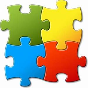 Colorful puzzle piece icon free vector download (34,535 ...