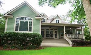 ranch house with porch raised ranch porch house plans With ranch home designs with porches