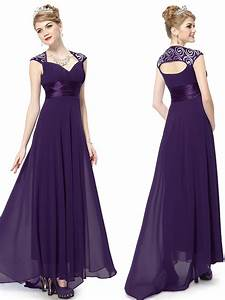Long purple bridesmaid dresses all dress for Purple long dress for wedding