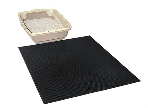 cat litter mat this recycled cat litter mat stops tracking in its tracks