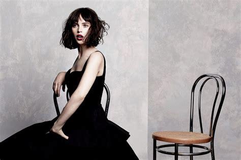 felicity jones photoshoot   magazine february