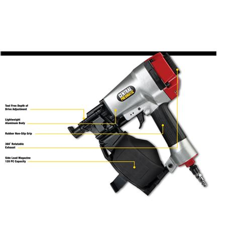 gauge coil roofing air nailer