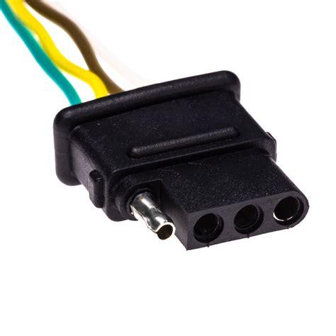 tc 4cfpt 4 wire trailer light connector plugs