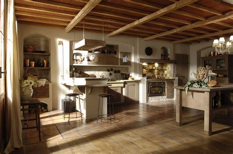 Foto Cucine Rustiche In Legno by Cucine Bianche Country Chic In Muratura Cucine In Legno