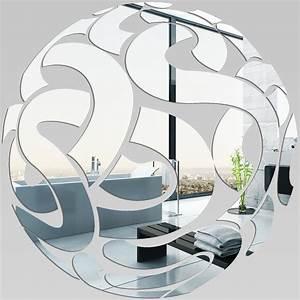 Miroir Plexiglass Acrylique Rond Design Pas Cher