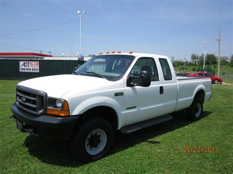 Purchase used 2000 FORD F250 XCAB 4X4 8FT BED 7.3 TAKE A