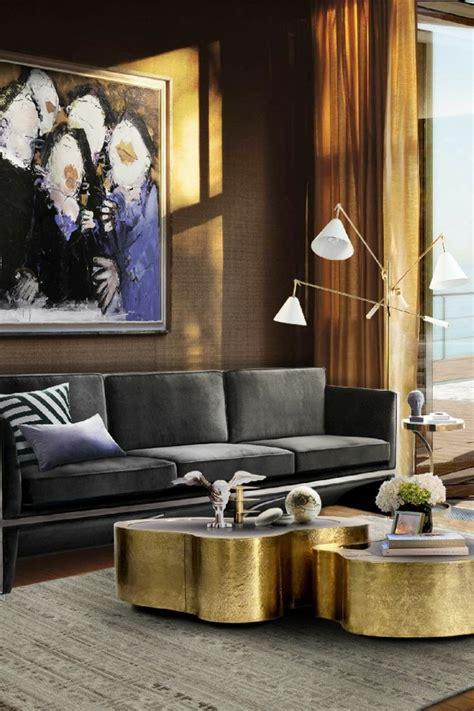 Was Passt Zu Gold by 115 Sch 246 Ne Ideen F 252 R Wohnzimmer In Beige Archzine Net