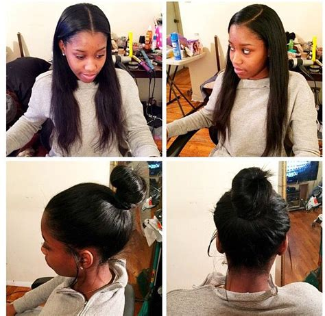 Partial Weave Sew In Hairstyles by Versatile Sew In Sewin Versatile Weave Partial Hair